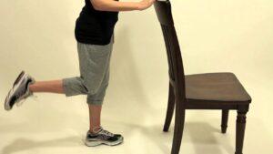 Standing hamstring curls