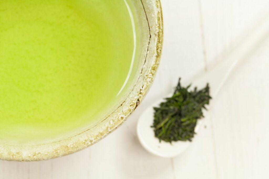 Gyokuro Tea served